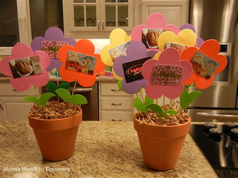 Flower Gift Card - alanna wendt to tennessee gift card flower pots