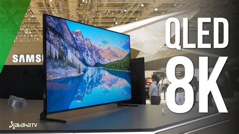 samsung 8k tv samsung qled 8k q900r as 237 se ve una resoluci 211 n 16 veces mayor que hd