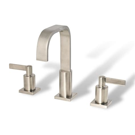 bathroom faucets brushed nickel widespread bathroom vanity sink widespread lavatory faucet brushed nickel cupc nsf ab 1953 ebay