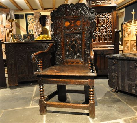 Wainscot Chairs For Sale by Antique Oak Chairs Oak Settles Antique Oak Armchairs