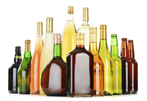 alcoholic drinks bottles as few as five alcoholic drinks a week could harm