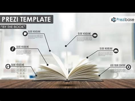 how to make a prezi template by the book prezi template