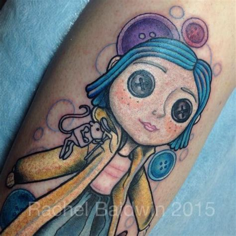 coraline tattoo 1000 ideas about coraline on black cat