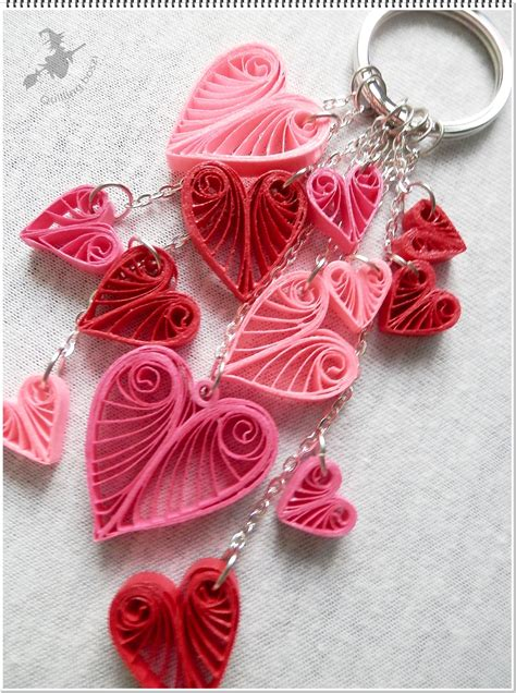 the 25 best quilling keychains ideas on