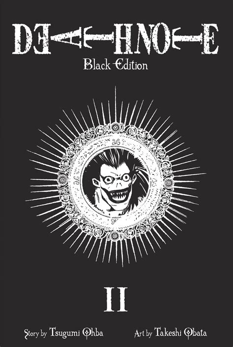 note black edition vol 2 book by tsugumi ohba