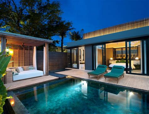 One Bedroom Pool Villa by W Bali Seminyak Accommodation Bali