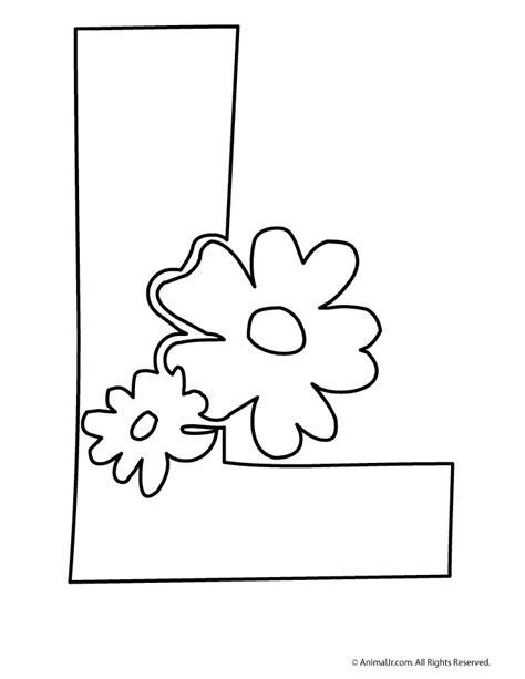 printable bubble letters flowers l woo jr kids activities