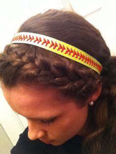 softball hairstyles on pinterest game day softball