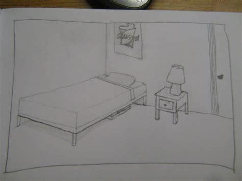 bed tekenen hoe maak je een tweepuntsperspectief tekening van een