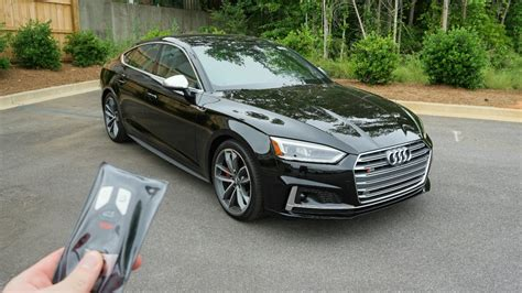 Audi S5 Sportback Test by 2018 Audi S5 Sportback Start Up Exhaust Test Drive And