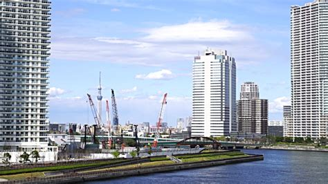 Rise Harumi new toyosu fish market and b roll footage getty images