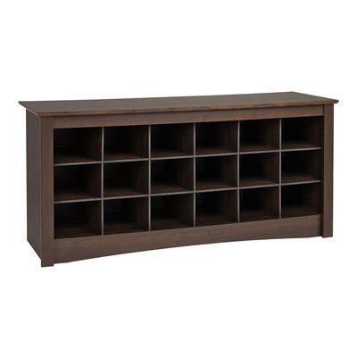 prepac shoe storage cubbie bench prepac furniture shoe storage cubbie bench lowe s canada