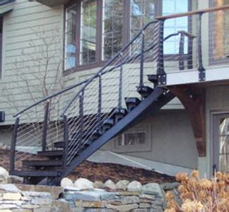Handrails For Exterior Stairs Types Of Stairs Advantages Amp Disadvantages