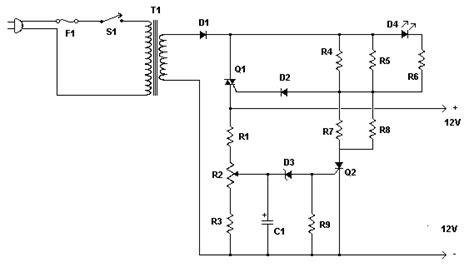Charger Battery Charger Aki 20a 12volt schema chargeur automatique de batterie a l acide de plomb 12v
