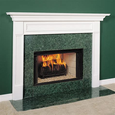 Wood Fireplace Surrounds by Fairfield Wood Fireplace Mantel Custom Sized