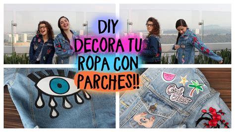 decorar ropa con parches decora tu ropa con parches giveaway youtube