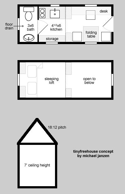 tiny house on wheels floor plans tiny free house pallet design on wheels
