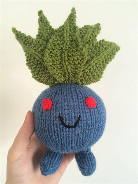 amigurumi oddish pattern oddish pokemon toy amigurumi knitting pattern by emma whittle