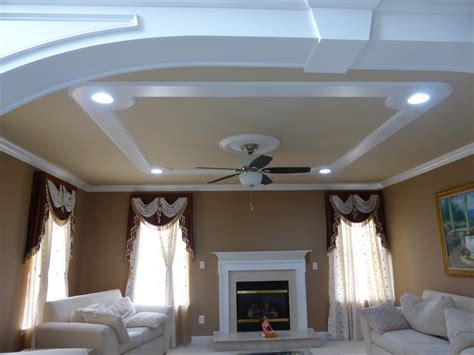 ceiling fan pop design pop designs on roof without ceiling