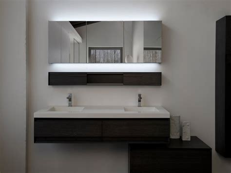 Modern Bathroom Mirrors With Light Doherty House Lighted Mirrors For Bathrooms Modern