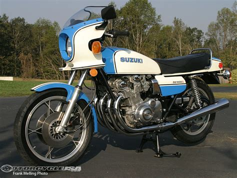 Suzuki Handling Memorable Motorcycle Suzuki Gs1000 Motorcycle Usa