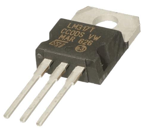 Lm317t 12 37v To 221 adjustable voltage regulator lm317t