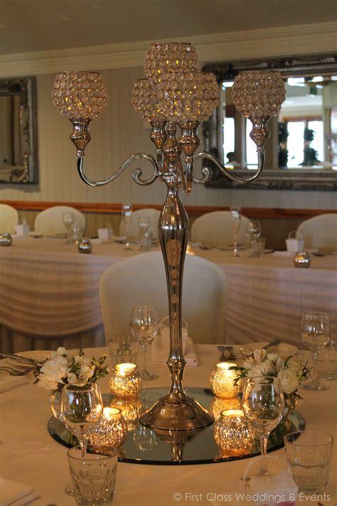 crystal candelabra  class weddings
