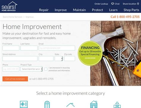 sears home improvements coupons promo codes