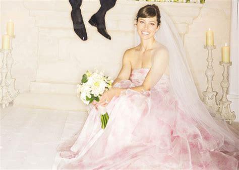 Jessica Biel Wedding Dress by Giambattista Valli, Justin