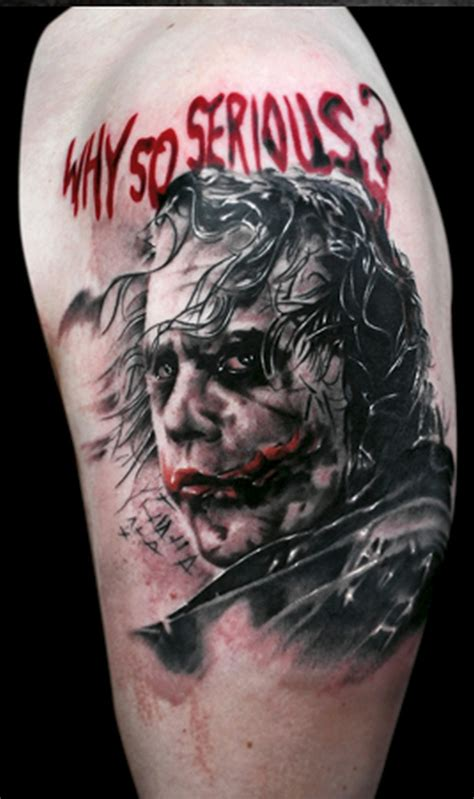 why tattoos why so serious joker image tattoos book 65 000