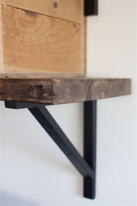 Shelf Bracing by Master Bedroom Update Desk Area The Lettered Cottage