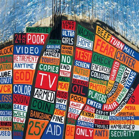 Hail To The Thief radiohead hail to the thief album design class
