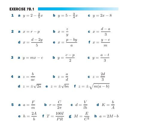 Rearranging Equations Worksheet Answers worksheets rearranging formulas worksheet opossumsoft