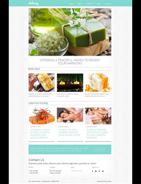 Crafts Responsive Website Template 48480 And Craft Website Templates