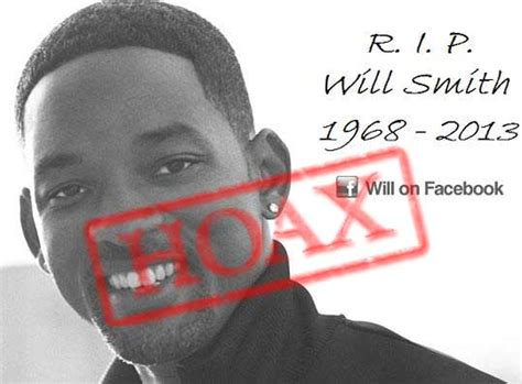 Smith Is Deceased by Scam Of Will Smith Dying After Spinal
