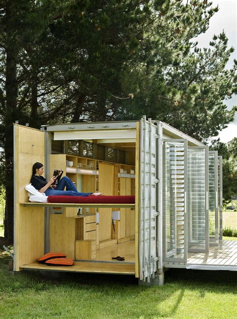 Small Homes Made From Shipping Containers Mobile Homes A Transforming Shipping Container House