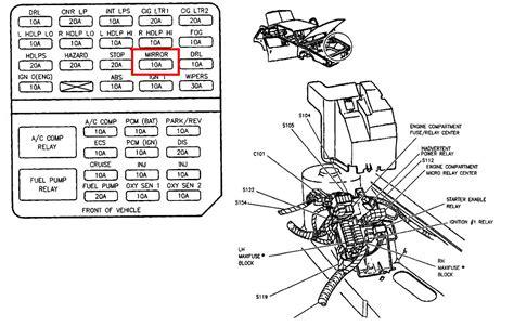 cadillac deville wiring diagram wiring diagram