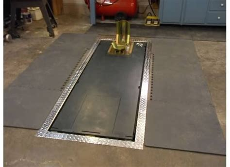 Garage Floor Car Lift by In Floor Motorcycle Lift The Garage Journal Board