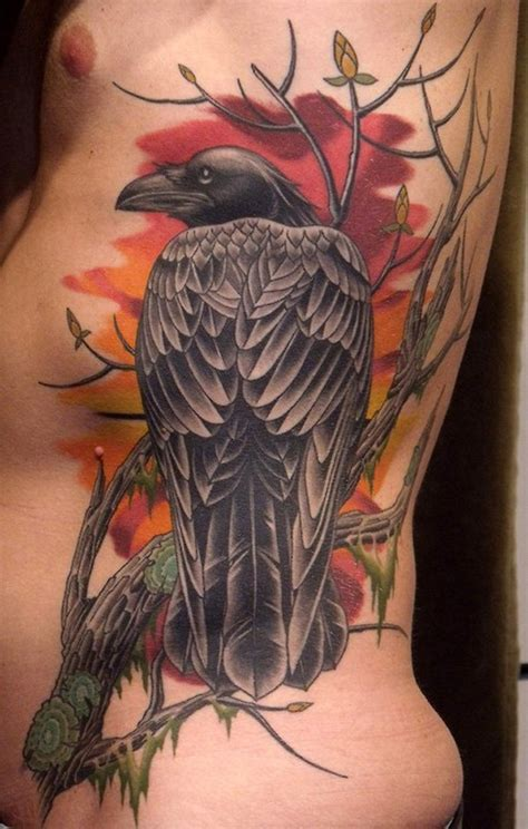 raven tattoos style tattoos