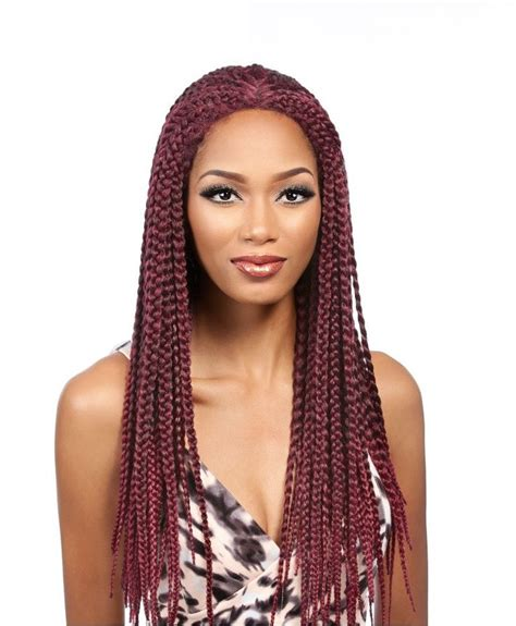 synthetic box braids that are not heavy it s a wig synthetic lace front wig lace box braid medium