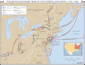 map of revolution battles 1000 images about history maps on new york