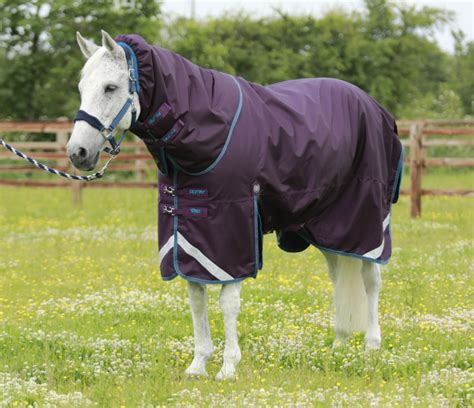 rug reproofer buster titan 200 turnout rug with neck cover