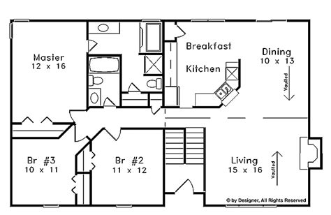 open split floor plans nice split foyer house plans 6 split foyer open floor