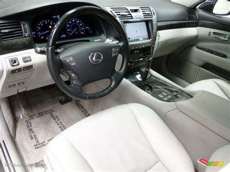 light grey lexus lexus ls 460 interior light gray interior 2007 lexus ls