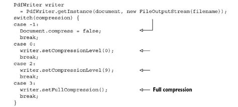 compress pdf file using java pdf and compression itext 5
