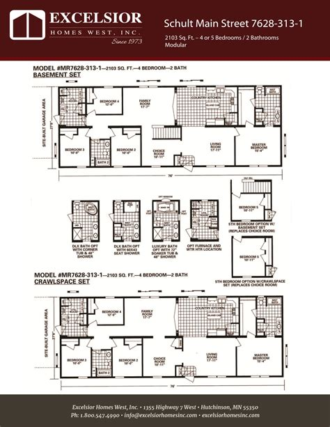 modular homes with basement floor plans 100 modular homes with basement floor plans 201