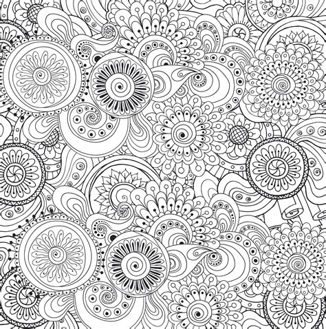 peaceful patterns coloring pages coloring for adults to reduce stress fun coloring pages