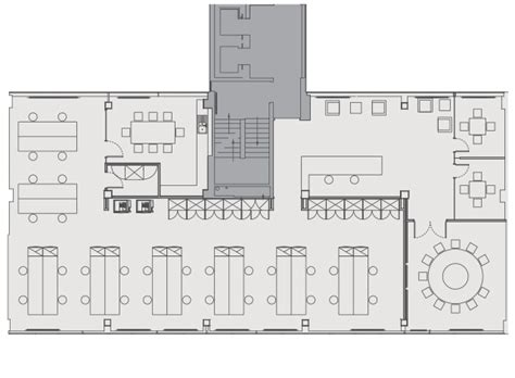 open office floor plan accommodation 25 old burlington street