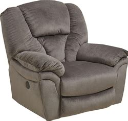 super comfort recliner chaise drew chaise rocker recliner in granite fabric by catnapper