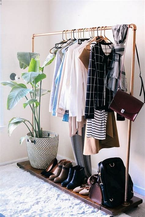 Stylist Clothing Rack by Six Steps To To Transforming Your Tiny Living Space